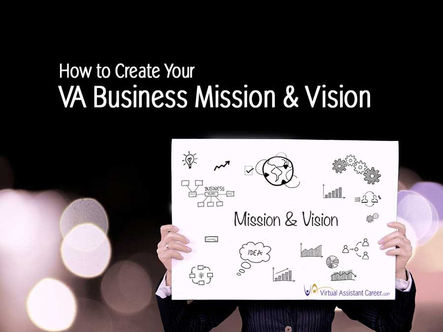 Steps to Create Your VA Business Mission and Vision