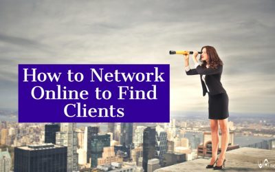 How to Network Online to Find Clients